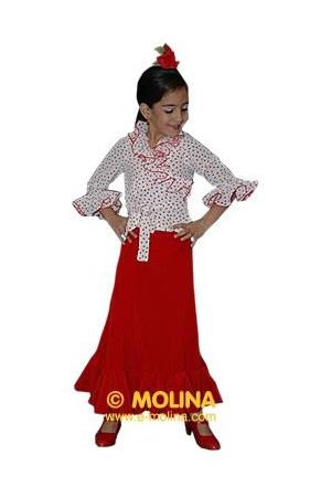 905de269a Faldas de Baile Flamenco para Niña – Flamenco Molina