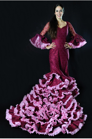 b5291f3a8 Bata de Cola – Gran Colección de Batas de Cola – Flamenco Molina