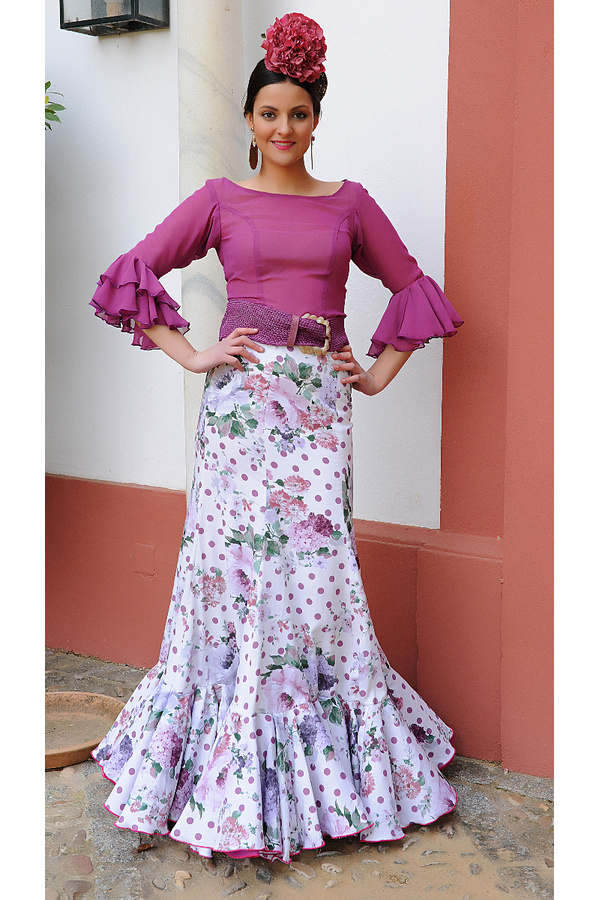 436062072 Falda flamenca